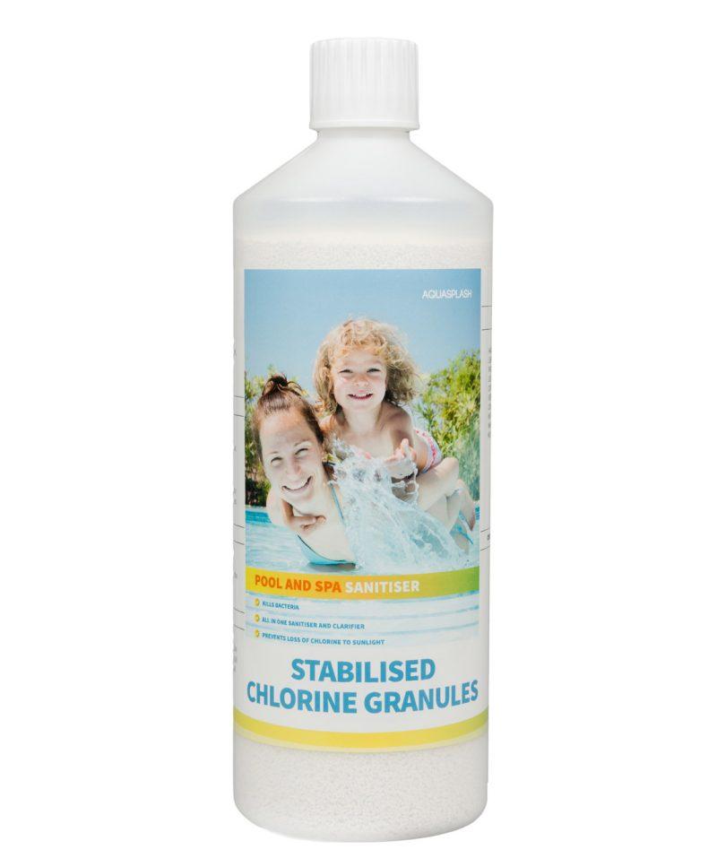 1kg aquasplash chlorine granules