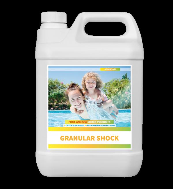 SHOCK-GRANULES