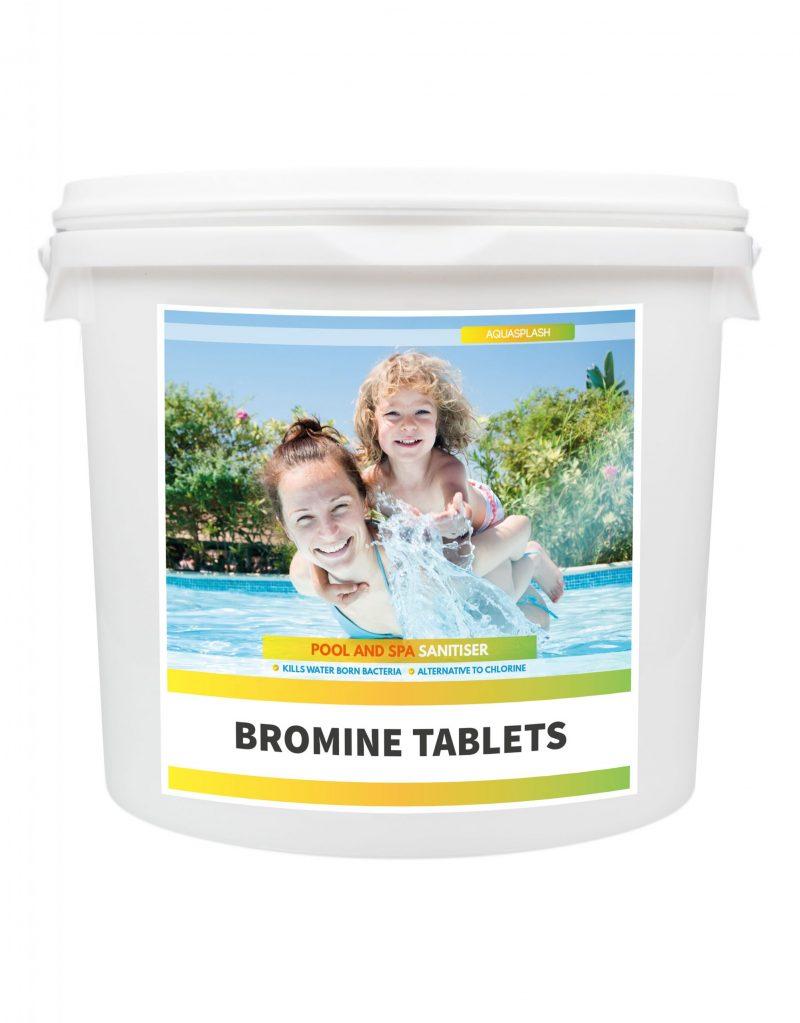 AquaSplash 5Kg Bromine Tablets