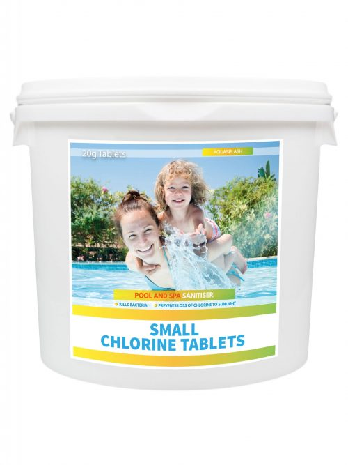 AquaSplash 5Kg Small Chlorine Tablets 20g