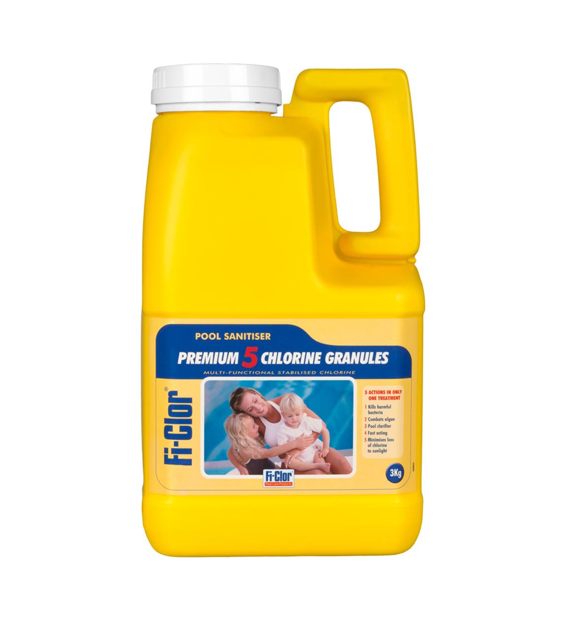 Fi Clor Premium 5 Chlorine Granules 3kg Pool Amp Spa