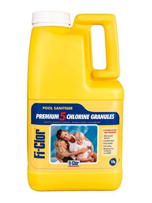 fi-clor premium 5 chlorine granules 5kg