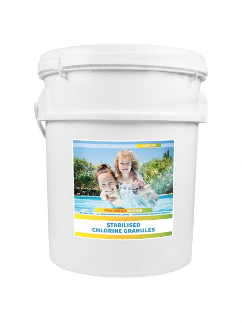 AquaSplash 25kg Chlorine Granules