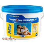 Fi-Clor Premium 5 200g Chlorine Tablets 2.4kg