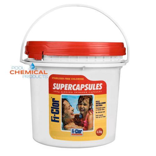 Fi-Clor Supercapsules 300g Sleeved Skimmer Capsules 4.5kg