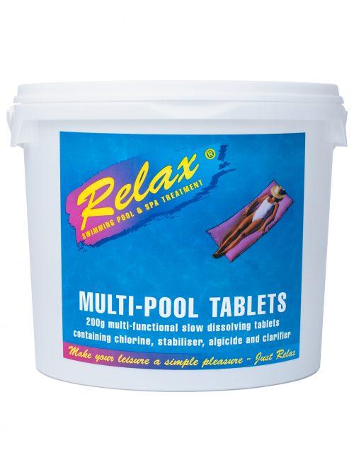Relax Multi Pool Tablets 5kg
