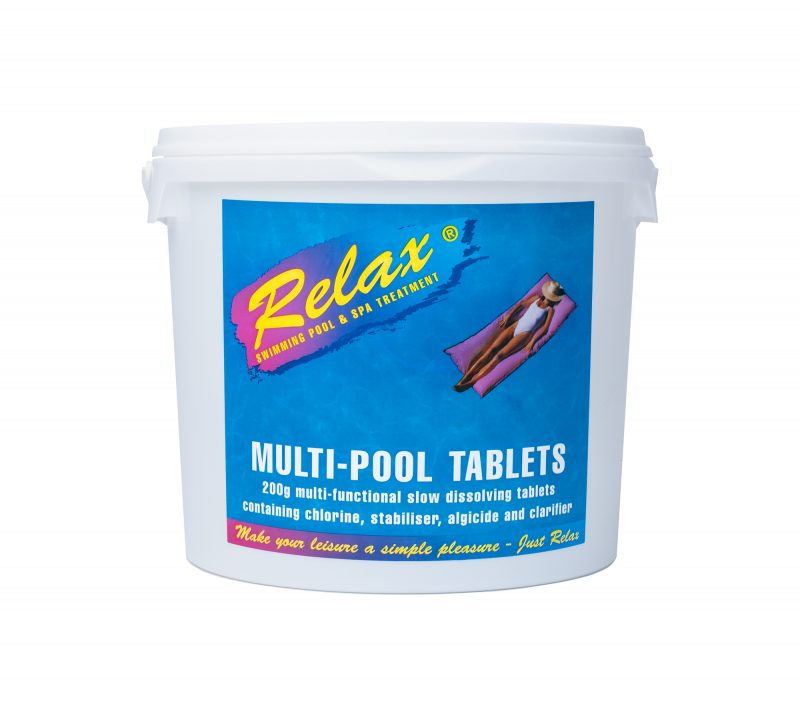 Relax Multi Pool Tablets 5kg