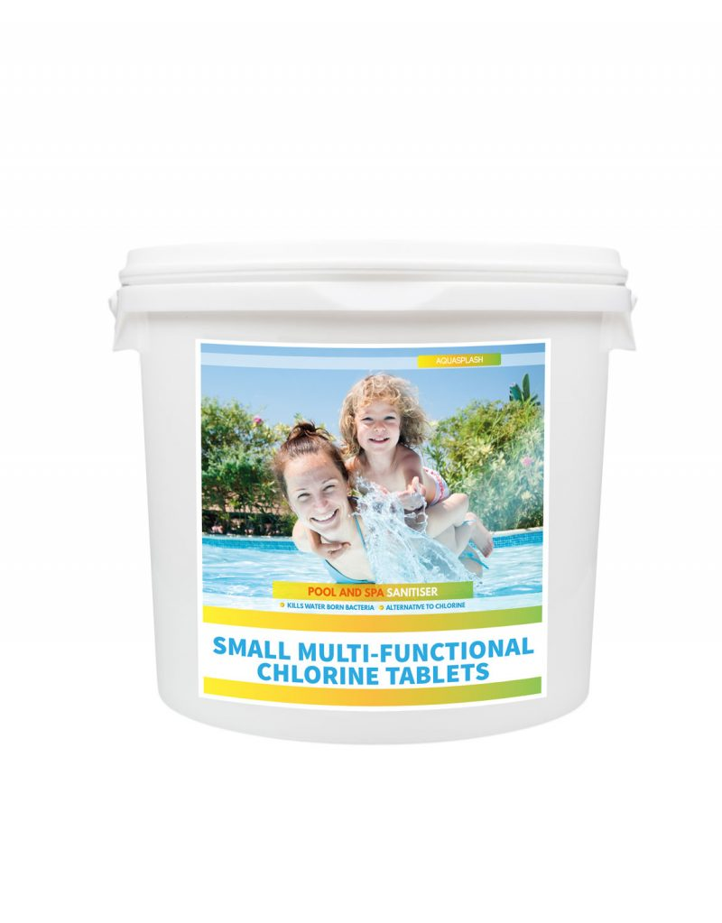 AquaSplash 2kg Small Multifunctional Chlorine Tablets