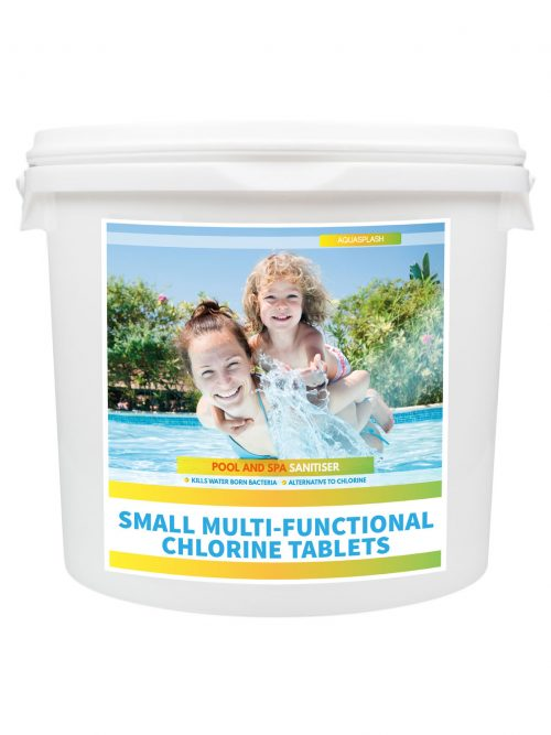 AquaSplash 5kg Small Multifunctional Chlorine Tablets