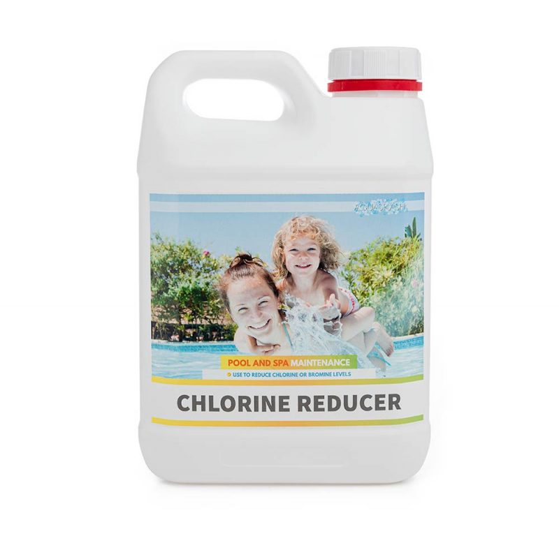 2kg aquasplash chlorine reducer pool and spa chemicals