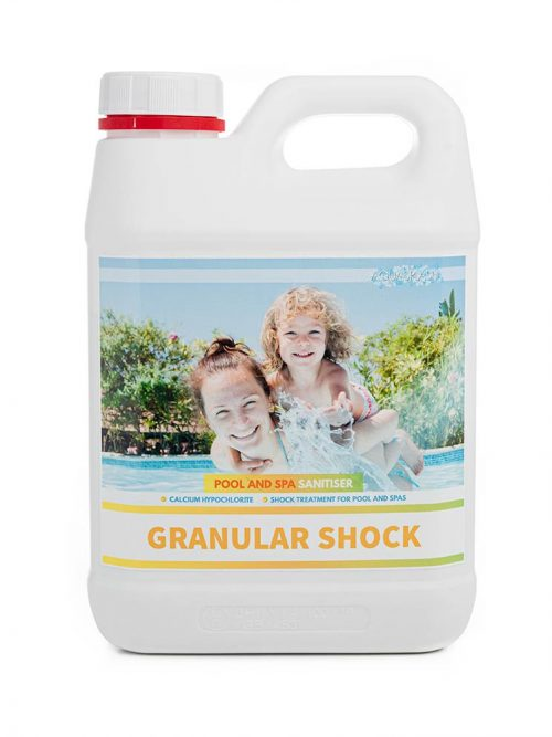 2kg aquasplash granular shock pool and spa chemicals