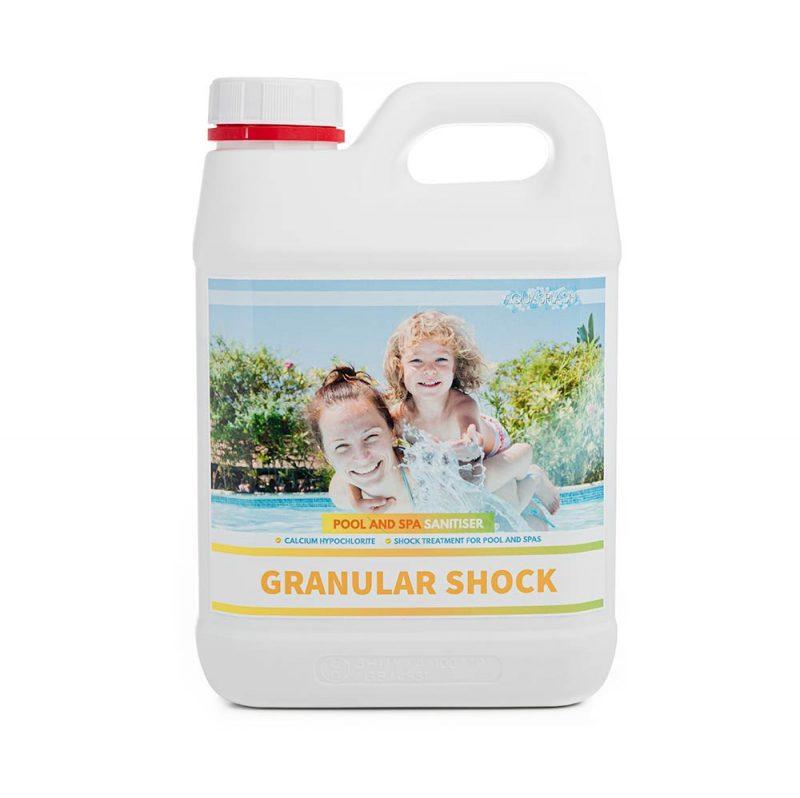 2kg aquasplash granular shock pool and spa chemicals