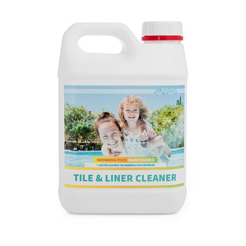 2l aquasplash tile and liner cleaner pool and spa chemicals