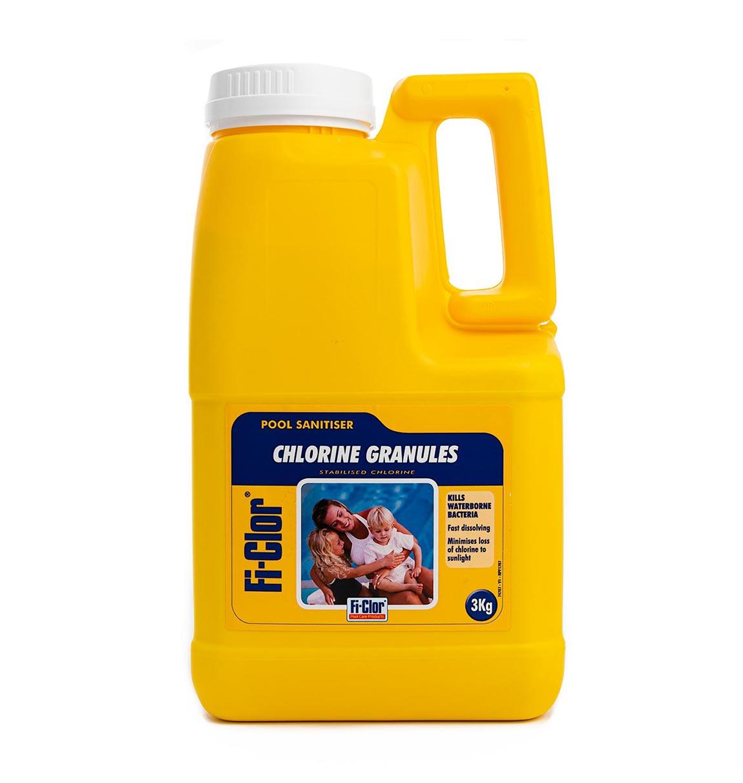 fi-clor chlorine granules 3kg